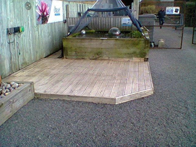 Decking after